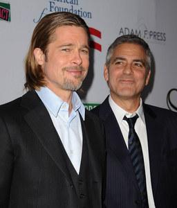 Brad Pitt & George Clooney