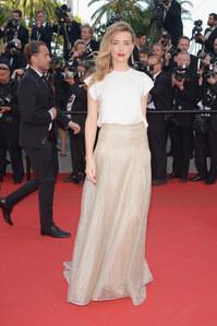 Amber Heard au Festival de Cannes 2014