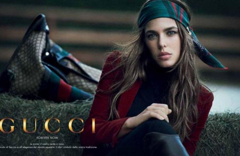 Charlotte Casiraghi : Nouveau visage de Gucci Cosmetics