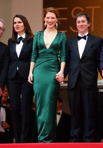Aurélie Filipetti sur le tapis rouge du Festival de Cannes 2014