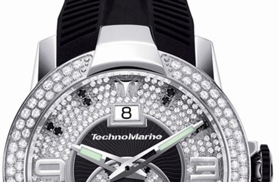 TechnoMarine, el reloj joya