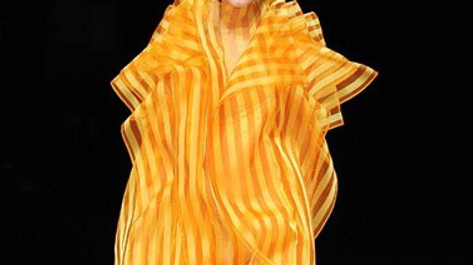 Issey Miyake presenta su nueva colección en la Fashion-week de Paris
