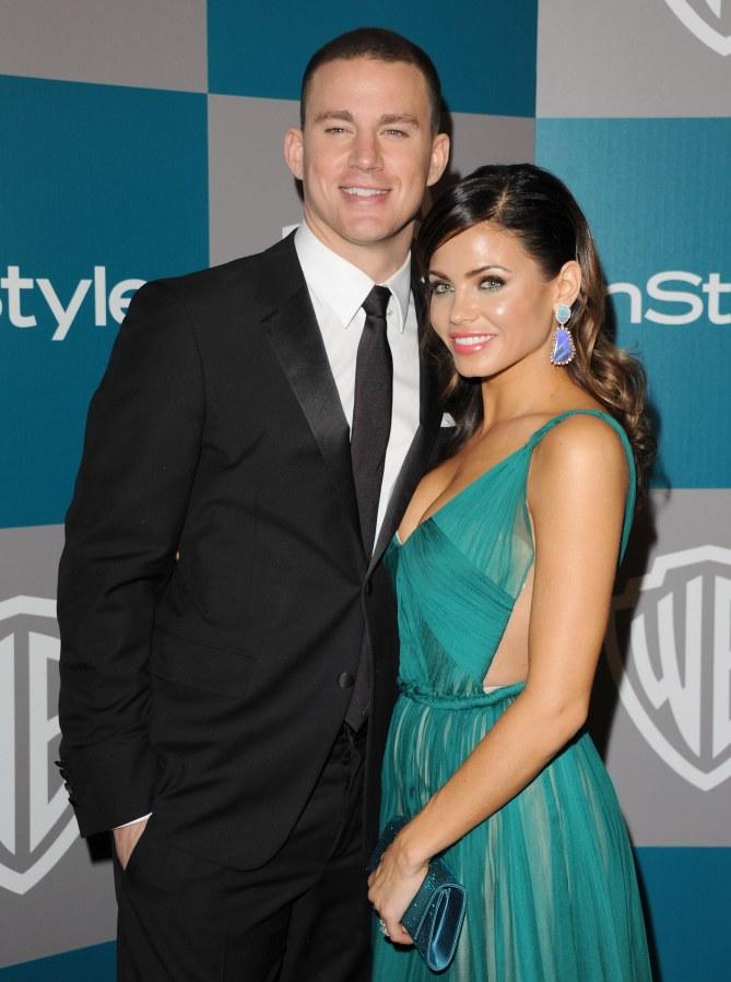 Channing Tatum mit Ehefrau Jenna