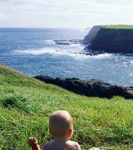 ¿Dónde ir de vacaciones con un bebé?