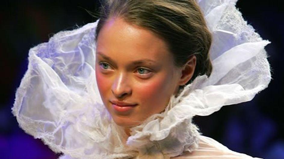 Desfiles de Alta Costura: Destacamos el maquillaje del desfile de Christophe Josse