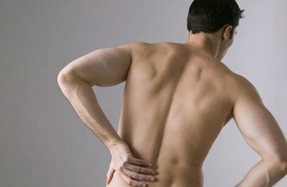 Mi chico sufre de dolor de espalda