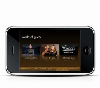 Gucci iPhone/iPod: moda y tecnología en uno
