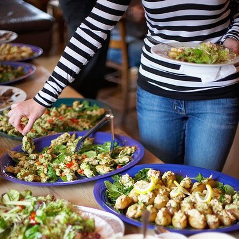 Recetas comida para 100 personas