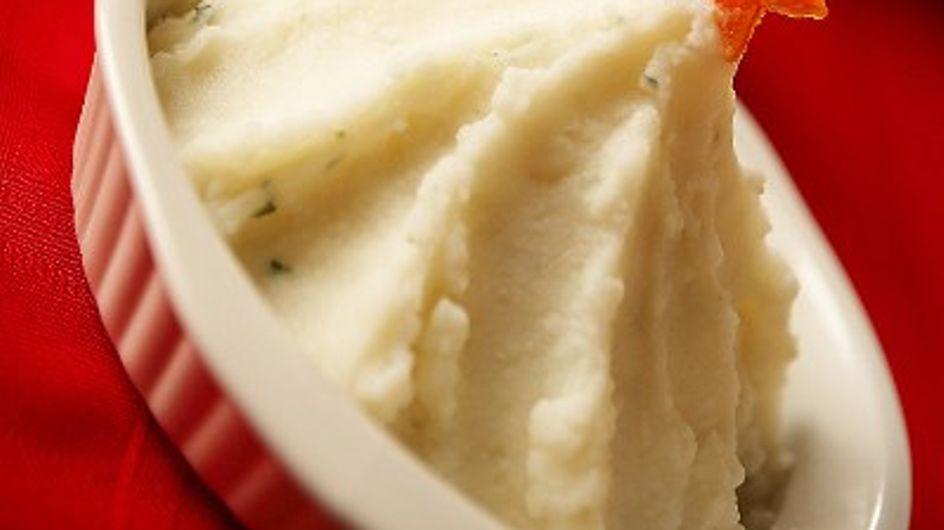 El puré de patata
