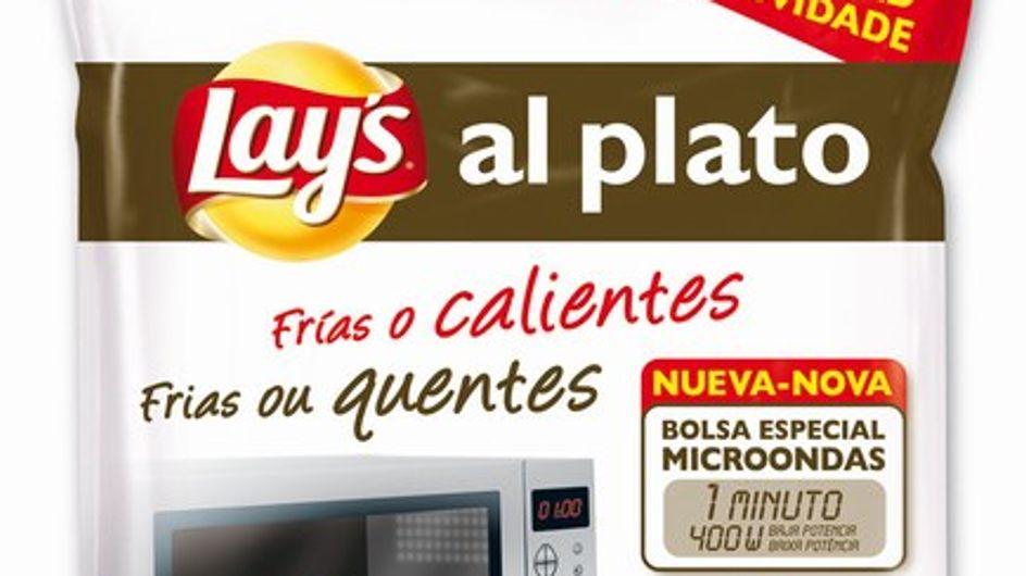 Lay's al plato: ¡patatas al microondas!