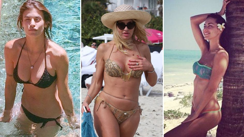 Le celebrities e l'estate. I bikini più famosi delle star, da Elisabetta Canalis ad Asia Argento