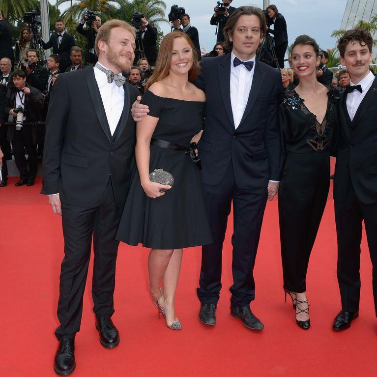 1a05d3342fd Festival de Cannes 2014   L actrice Barbara Probst monte les marches dans  une robe... La Redoute ! (Photos)