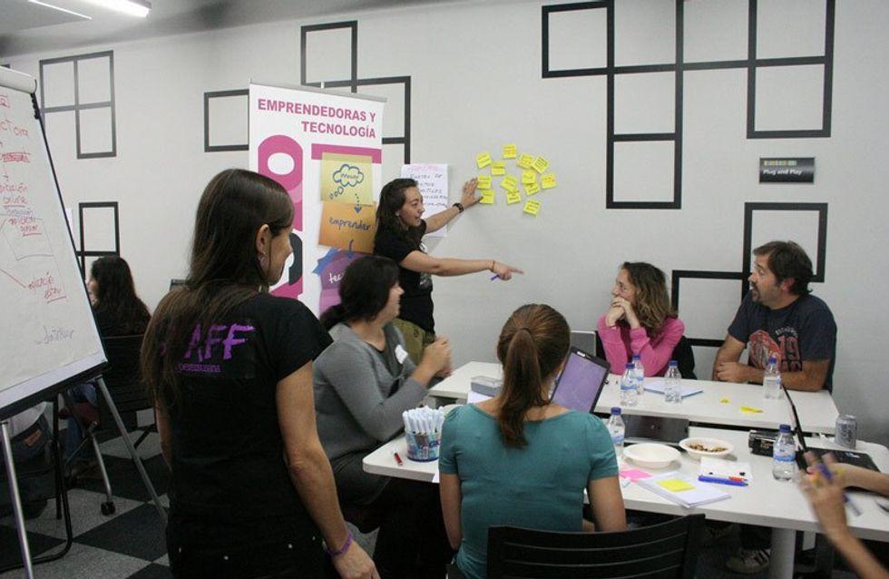 El Startup Weekend bate el récord mundial de participación femenina