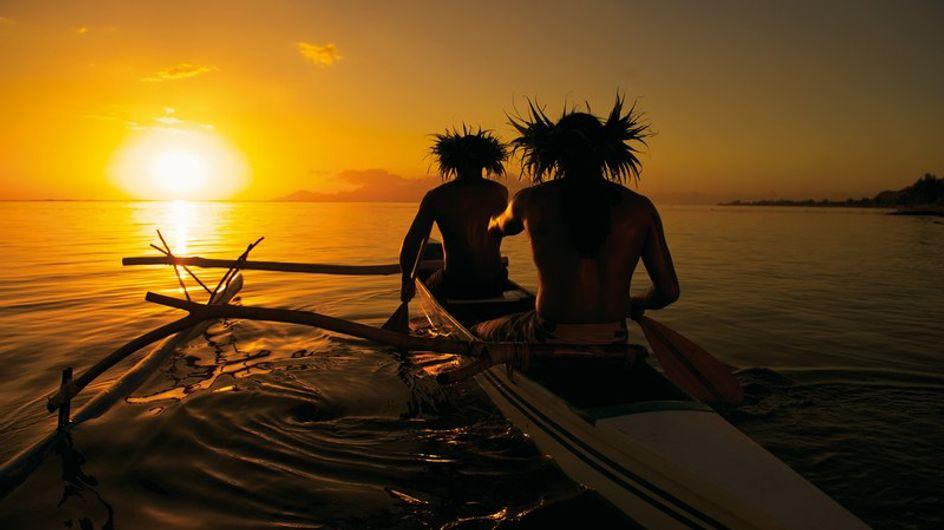 Tras la estela del eclipse solar en Tahití