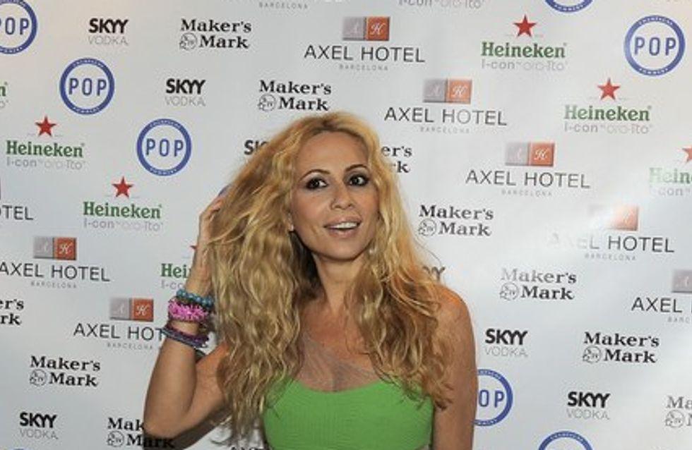 Marta Sánchez amadrina el Axel Hotel de Barcelona