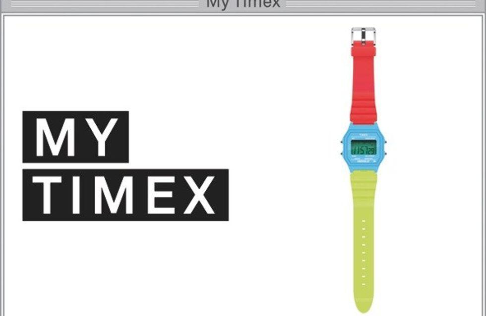 Timex personaliza sus relojes en un sólo clic