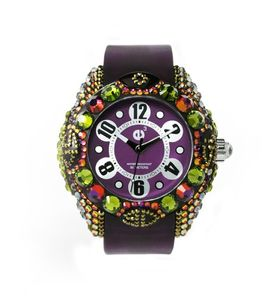 Crystal Art: ¿joya o reloj?