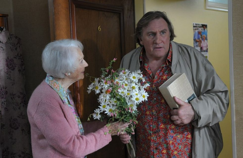 Gérard Depardieu en una bonita historia de amistad