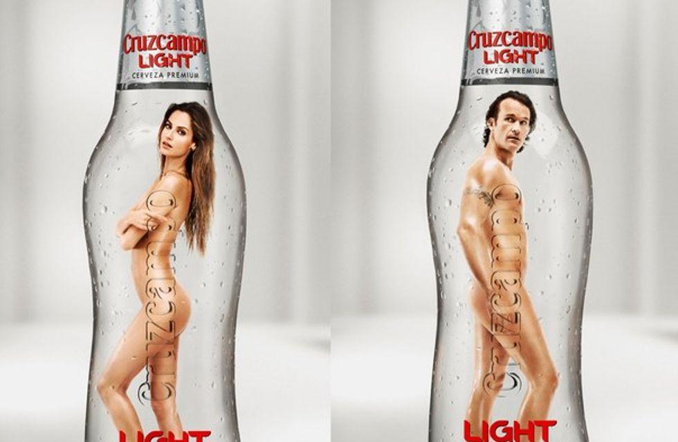 """Carlos Moya y Ariadne Artiles """"light"""" de ropa"""