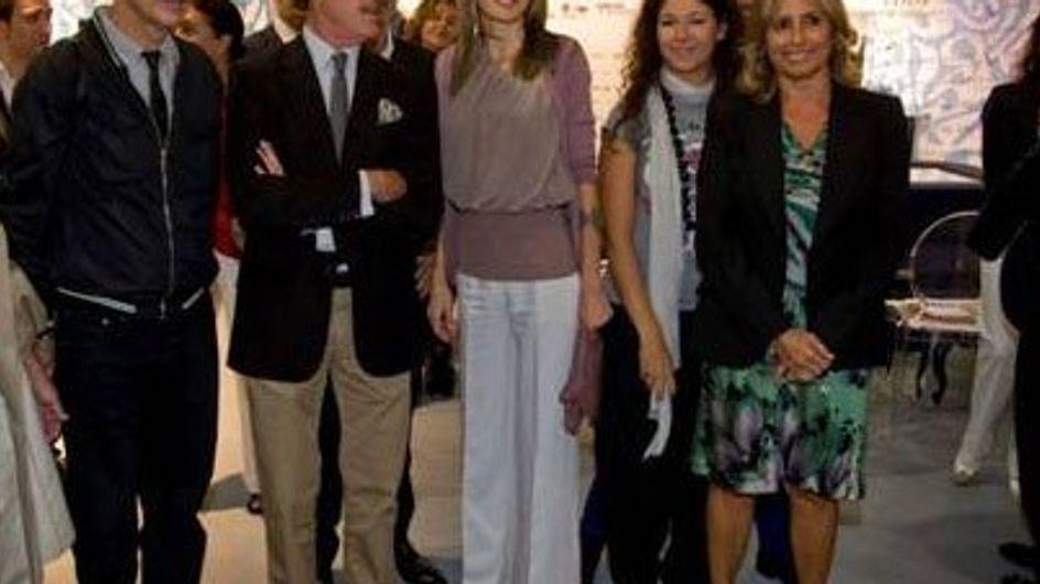 La Princesa Doña Letizia en Cibeles Fashion Week
