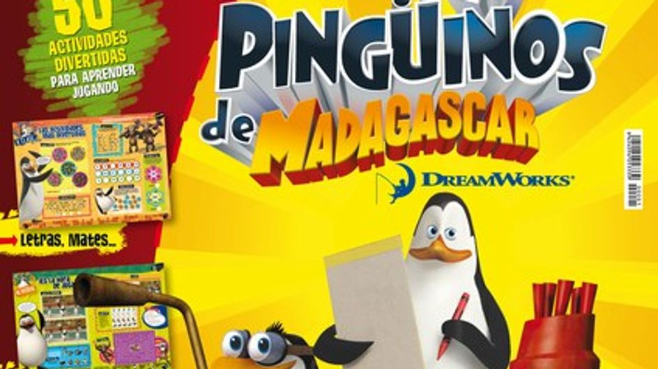 Aprende y Juega con los Pingüinos de Madagascar
