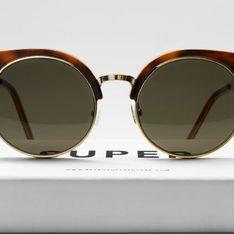 Super: la alta costura hecha gafas de sol