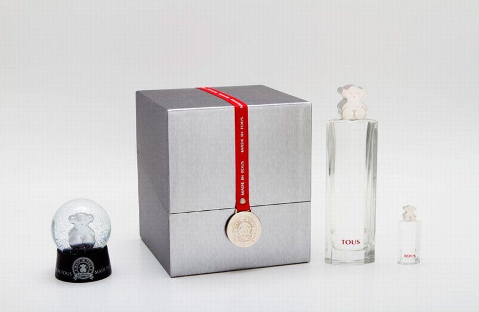 Acompaña la Navidad con aroma a Tous