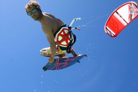 Le kitsurf à l'UCPA