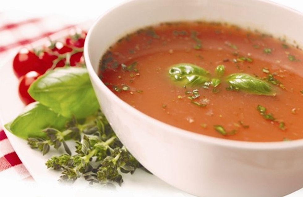 Sopa de Tomate Gourmet, el primer snack caliente