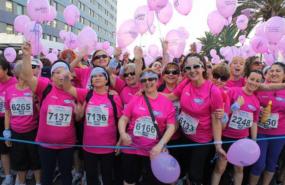 20.000 corredoras contra el cáncer