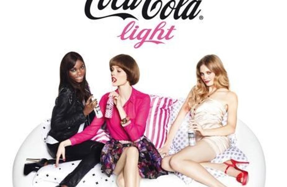 Karl Lagerfeld bebe Coca-Cola Light