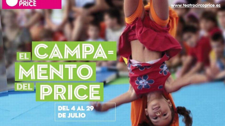 ¡Apúntate al campamento de verano del Circo Price!