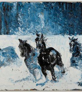 Tiziana Domínguez expone su colección de pintura