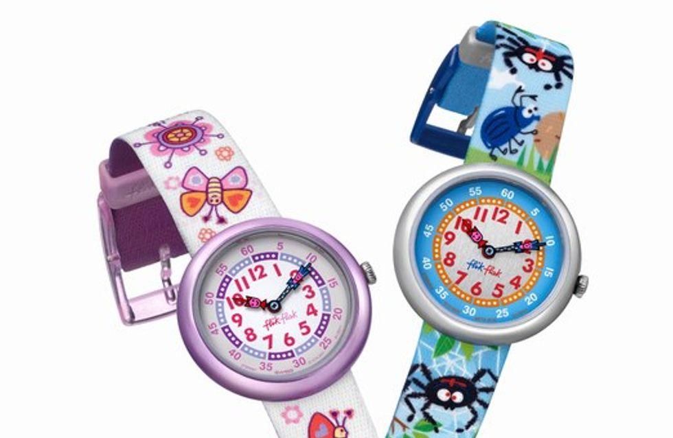 Flick Flack lanza una divertida colección de relojes
