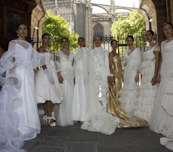 Jóvenes diseñadores presentan Novias de Sevilla