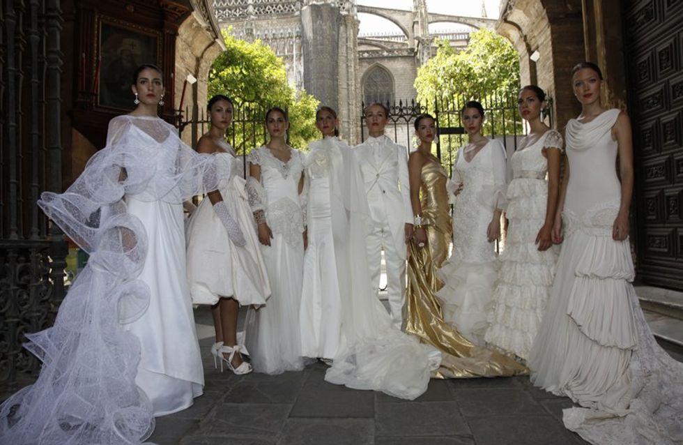 """Jóvenes diseñadores presentan """"Novias de Sevilla"""""""