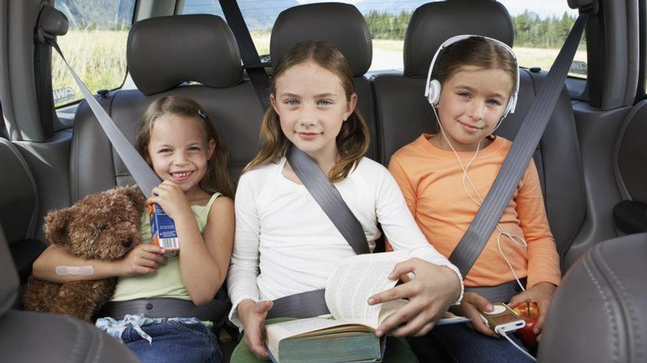 """El """"veo veo"""", la mejor forma para entretener a los niños en el coche"""