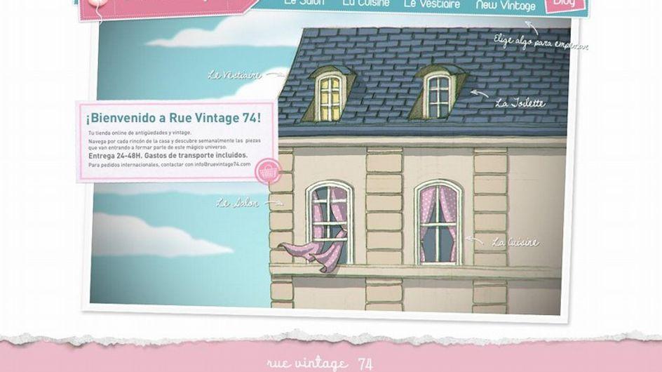 ¡Descubre la nueva tienda online Rue Vintage 74!