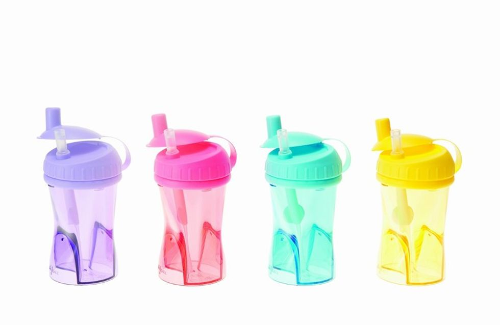 Perfecta hidratación con las nuevas tazas antigoteo de Difrax