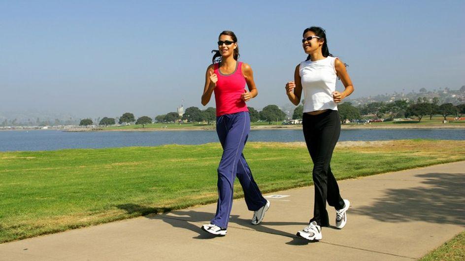 Las españolas se mueven 2 kilómetros al día