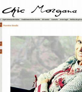 ¡Visita la nueva tienda online Chic Morgana!