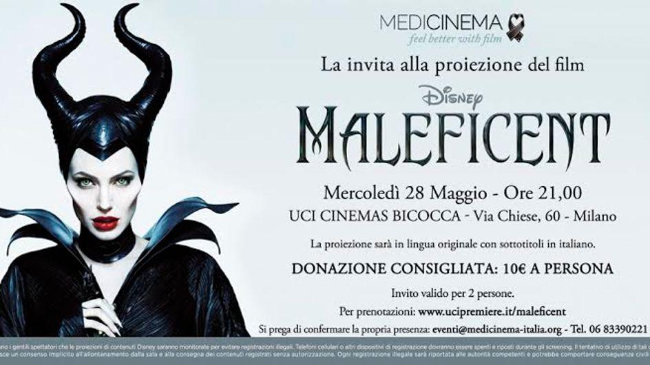 Maleficent: un'anteprima esclusiva per aiutare il prossimo