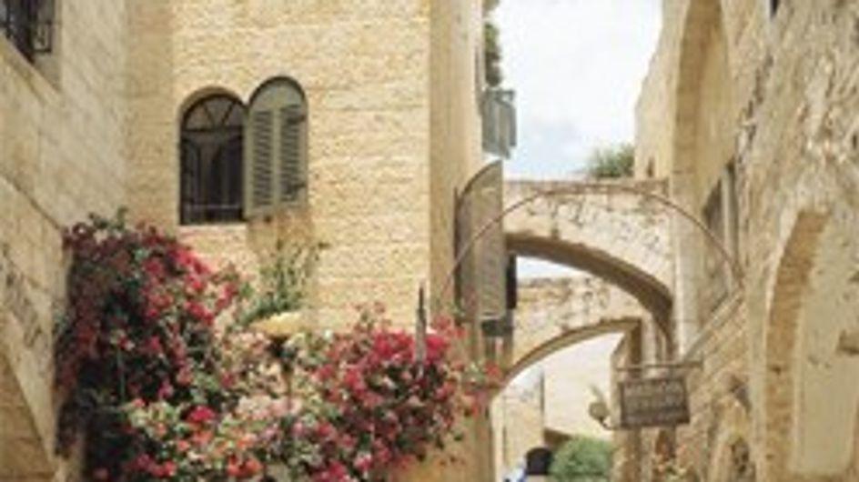 Un viaje muy exclusivo a Israel...