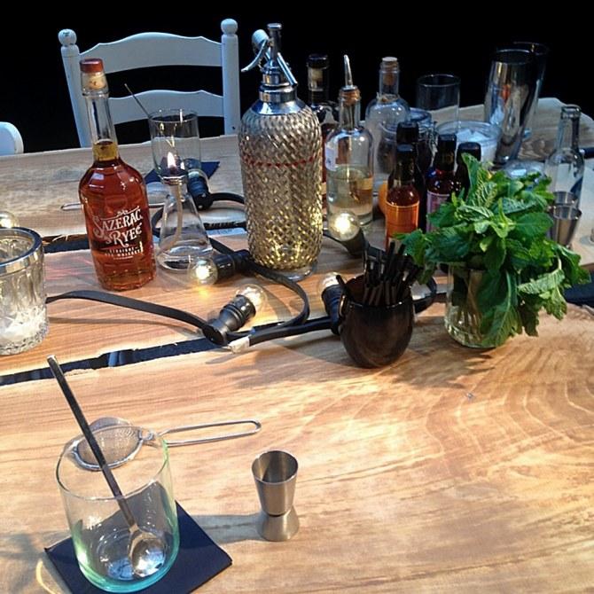 Atelier cocktail par Hortense