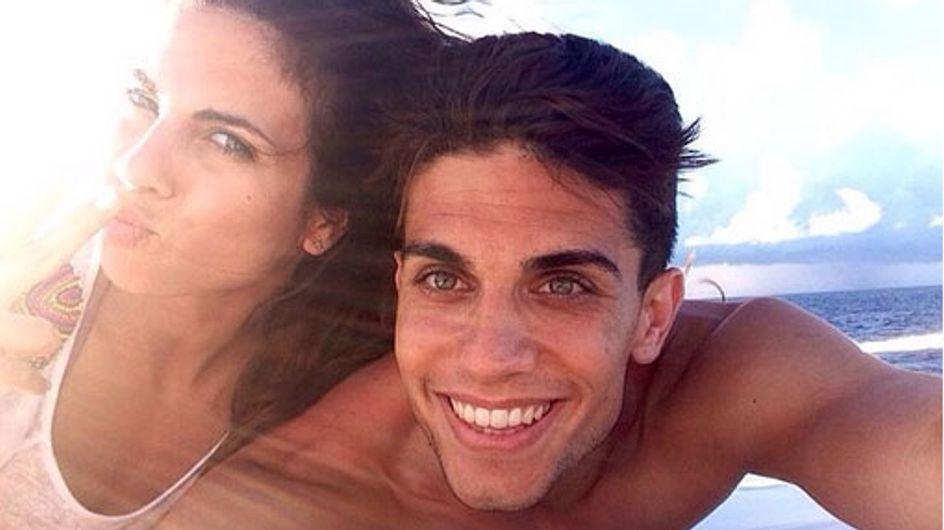 Nueva relación periodista-futbolista: Melissa Jiménez y Marc Bartra confirman su amor