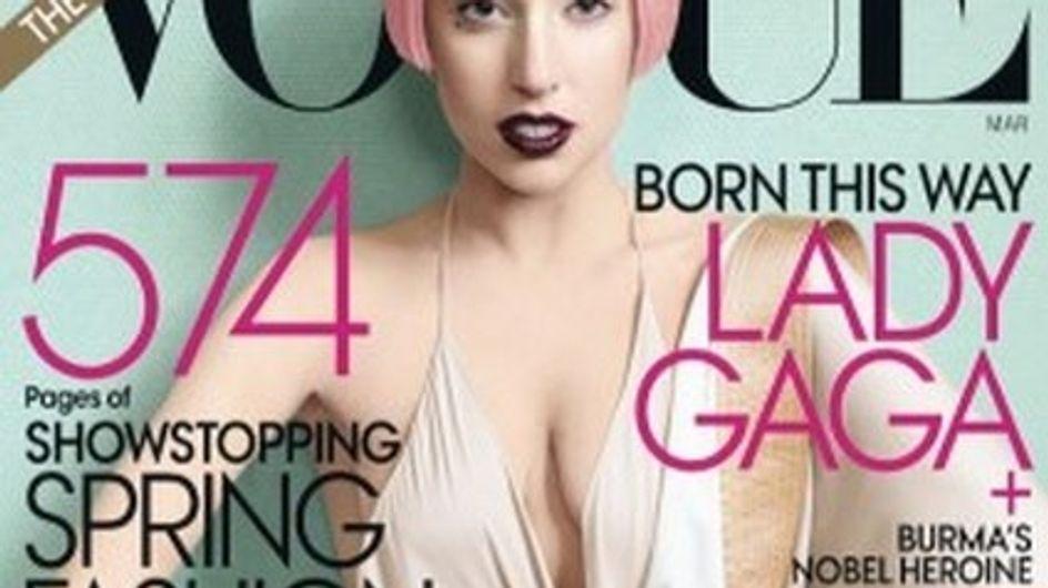 La portada de Lady Gaga en Vogue: la más vendida del año