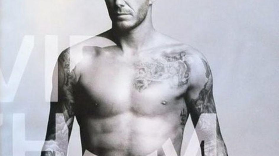 David Beckham diseñará una línea de ropa interior para H&M