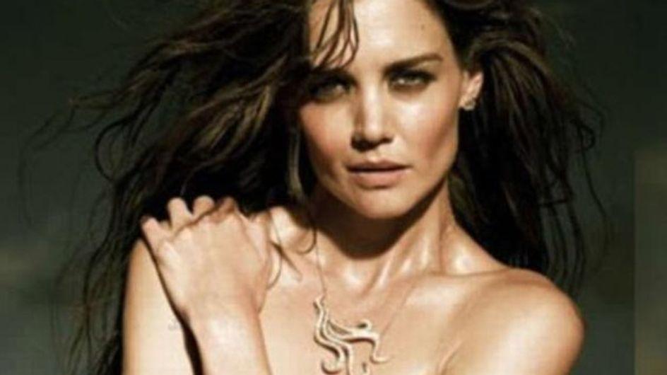 Katie Holmes posa en topless para H.Stern