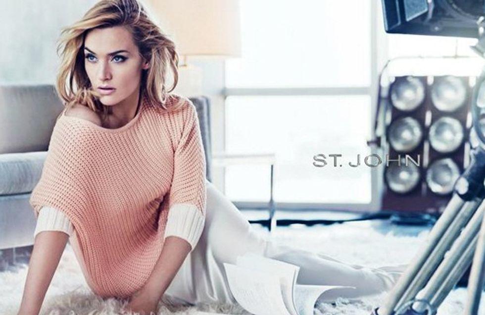 Kate Winslet abusa del Photoshop en la campaña de St. John
