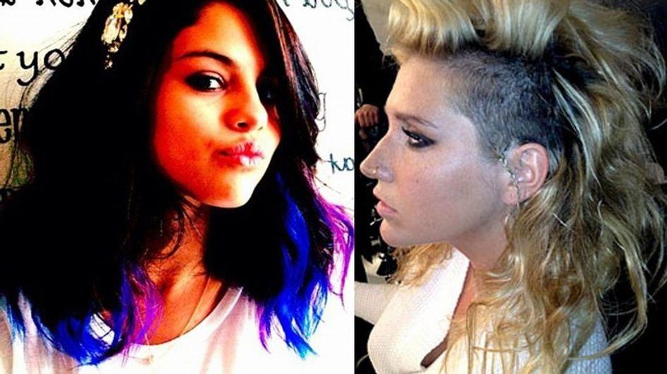 Selena Gomez y Kesha estrenan el año con un nuevo look